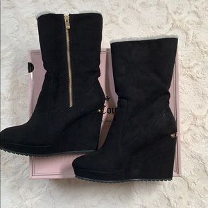 🔥Juicy Couture Wedge Boots🔥